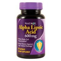 Alpha Lipoic Acid 600 мг (30капс)